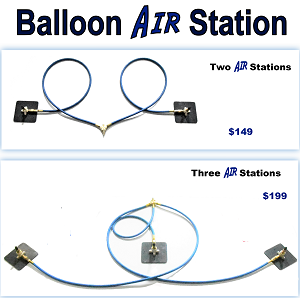 Shooting Stars Multi-Station Balloon Inflation System