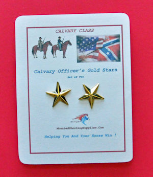 Cavalry Officer's Gold Stars