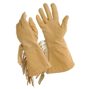 Cavalry Gloves with Fringe
