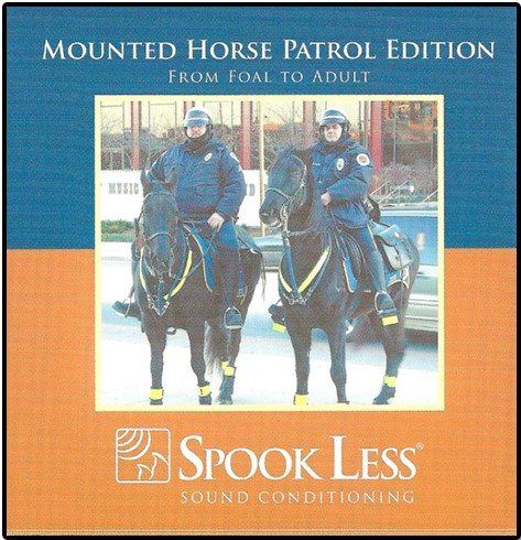 Mounted Police Horse Training CD