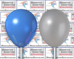 500 Cavalry Class Event Balloons - Blue & Gray