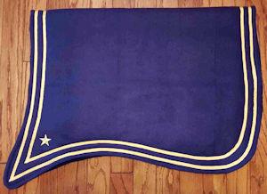 Cavalry Saddle Blanket
