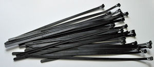 Releasable/Reusable Cable Ties for Hanging Banners & Temporary Signs at Events