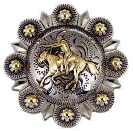 Mounted Shooting Conchos