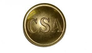 CSA Brass Button