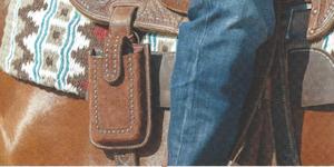 Leather Rugged Smart Phone Holder