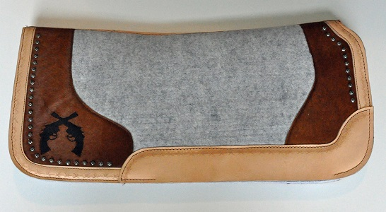saddle pad with pistols